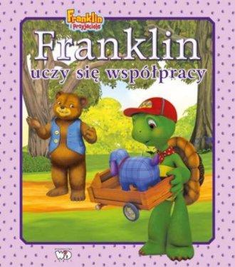 Franklin uczy się współpracy - okładka książki