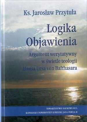 Logika Objawienia. Argument werytatywny - okładka książki