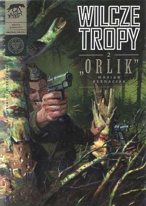 Wilcze tropy cz. 2. Orlik - okładka książki