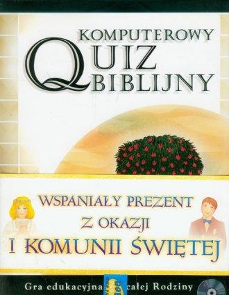 Komputerowy quiz biblijny - pudełko programu