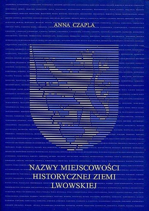 Nazwy miejscowości historycznej - okładka książki