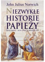 Niezwykłe historie papieży - okładka książki