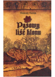 Pąsowy liść klonu - okładka książki