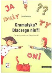 Gramatyka? Dlaczego nie?! Ćwiczenia - okładka podręcznika