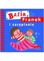 Basia, Franek i zasypianie - okładka książki