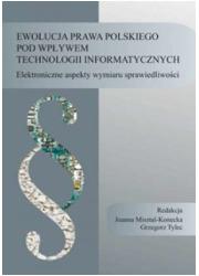 Ewolucja prawa polskiego pod wpływem - okładka książki