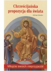 Chrześcijańska propozycja dla świata - okładka książki