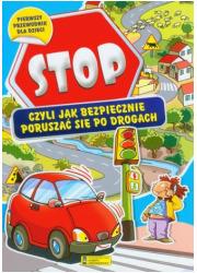 Stop czyli jak bezpiecznie poruszać - okładka książki