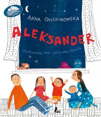 Aleksander - okładka książki