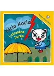 Kicia Kocia i straszna burza - okładka książki