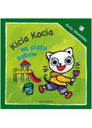 Kicia Kocia na placu zabaw - okładka książki