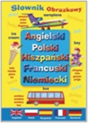 Angielski, Polski, Hiszpański, - okładka książki