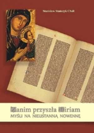 Zanim przyszła Miriam. Myśli na - okładka książki