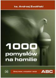 1000 pomysłów na homilie. Okresy - okładka książki