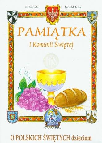 O polskich świętych dzieciom. Pamiątka - okładka książki