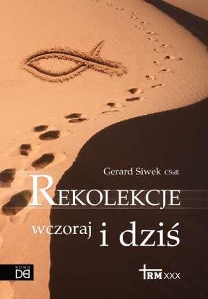 Rekolekcje wczoraj i dziś - okładka książki