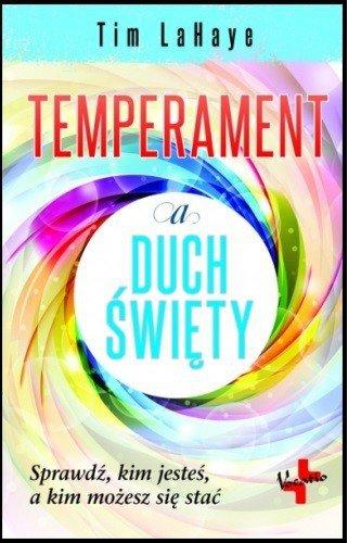 Temperament a Duch Święty - okładka książki