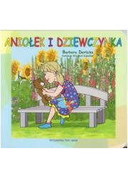 Aniołek i dziewczynka - okładka książki