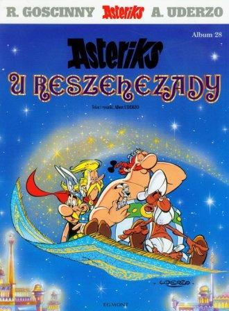Astriks u Reszehezady. Album 28 - okładka książki