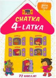 Chatka 4-latka - okładka książki