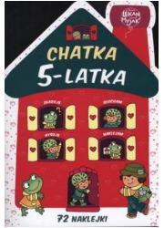 Chatka 5-latka - okładka książki