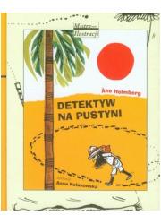 Detektyw na pustyni - okładka książki