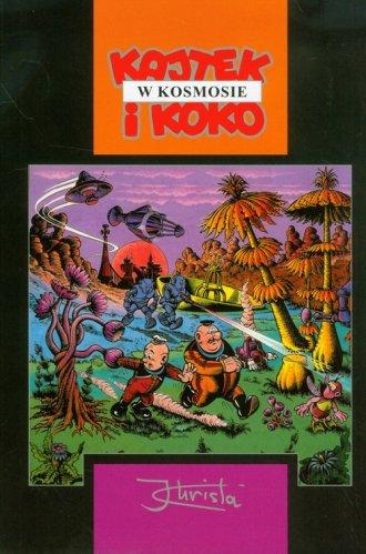 Kajtek i Koko w kosmosie - okładka książki