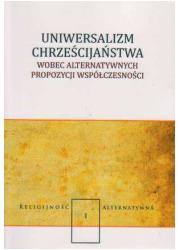Uniwersalizm chrześcijaństwa wobec - okładka książki