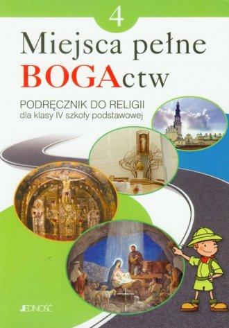 Miejsca pełne BOGActw. Klasa 4. - okładka podręcznika