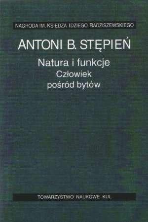 Natura i funkcje. Człowiek pośród - okładka książki