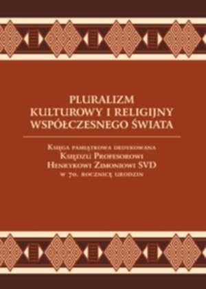 Pluralizm kulturowy i religijny - okładka książki