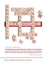 Wybrane problemy terminologii francusko-polskiej - okładka podręcznika