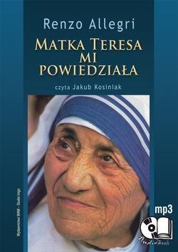 Matka Teresa mi powiedziała - pudełko audiobooku