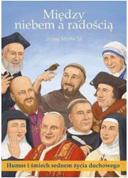 Między niebem a radością - okładka książki