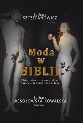 Moda w Biblii - okładka książki