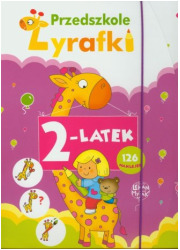 Przedszkole Żyrafki. 2-latek - okładka książki