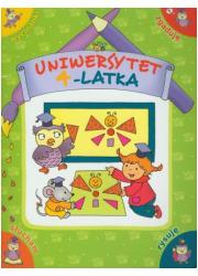Uniwersytet 4-latka - okładka książki