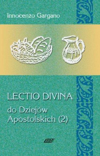 Lectio Divina 13 Do Dziejów Apostolskich - okładka książki