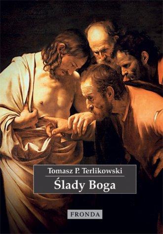 Ślady Boga - okładka książki