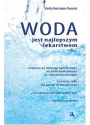 Woda jest najlepszym lekarstwem - okładka książki