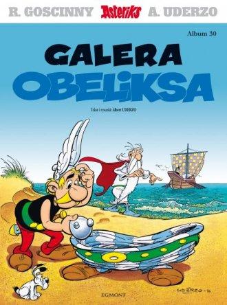 Asteriks. Galera Obeliksa. Tom - okładka książki