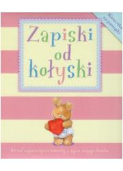 Zapiski od kołyski (różowa) - okładka książki