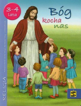 Bóg kocha nas. Podręcznik (wiek - okładka książki