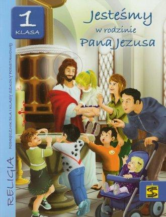 Jesteśmy w rodzinie Pana Jezusa. - okładka podręcznika