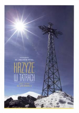 Krzyże w Tatrach. Myśli i słowa - okładka książki
