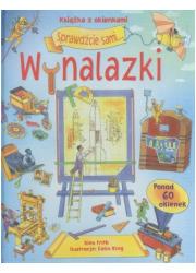 Wynalazki (książka z okienkami) - okładka książki