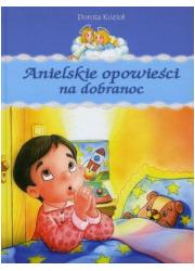 Anielskie opowieści na dobranoc - okładka książki