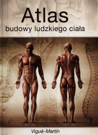 Atlas budowy ludzkiego ciała - okładka książki