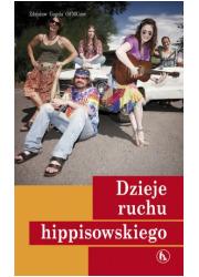 Dzieje ruchu hippisowskiego - okładka książki