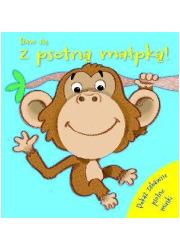 Baw się z psotną małpką - okładka książki